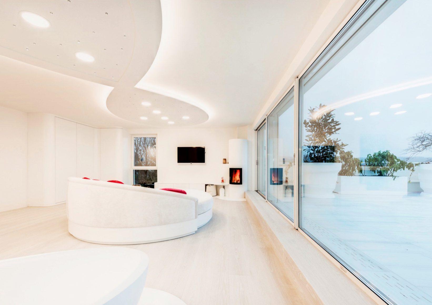 evon Smart Home moderner Wohnraum
