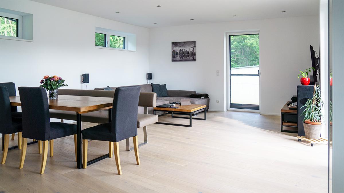 evon Smart Home Wohnzimmer