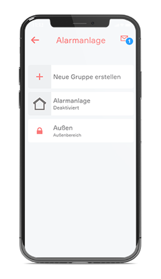 evon Smart Home Alarmierung