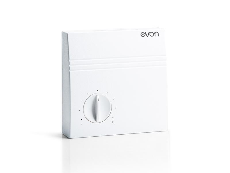 Raumbediengerät von evon Smart Home