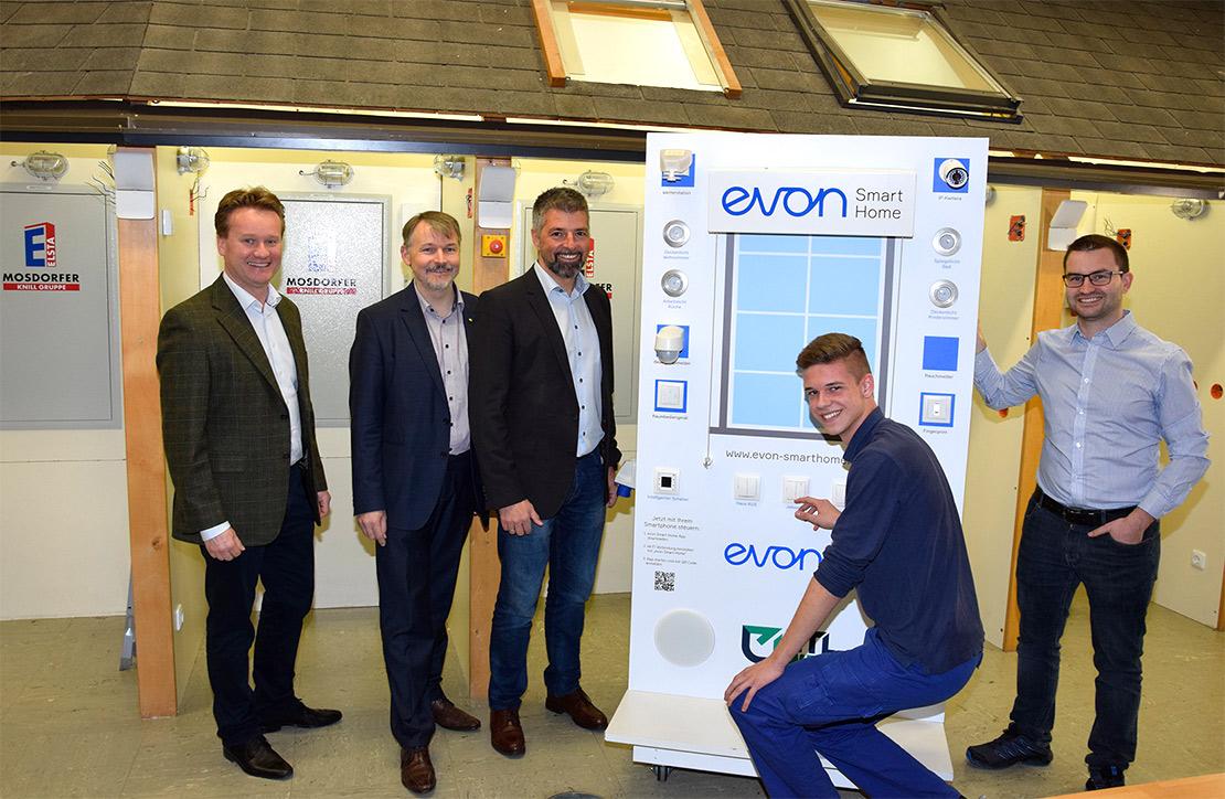 HTL Weiz Partnerschaft mit evon Smart Home