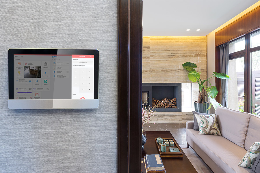 Sicherheit mit evon Smart Home
