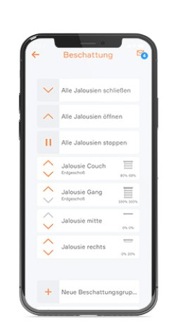 evon Smart Home Beschattung Jalousie