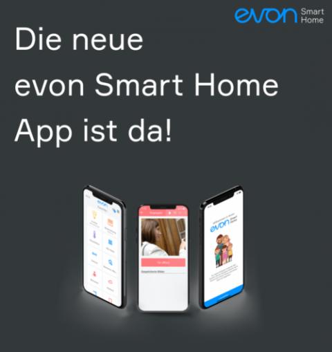 Neue evon Smart Home App