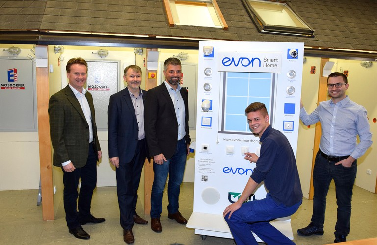 HTL Weiz Partnerschaft mit evon Smart Home